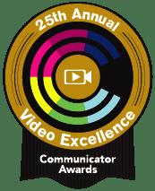 logotipo de communicator awards ex