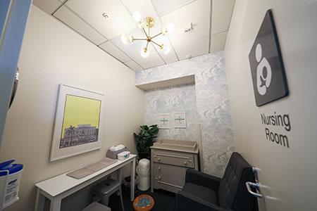 nursing room at ontario airport