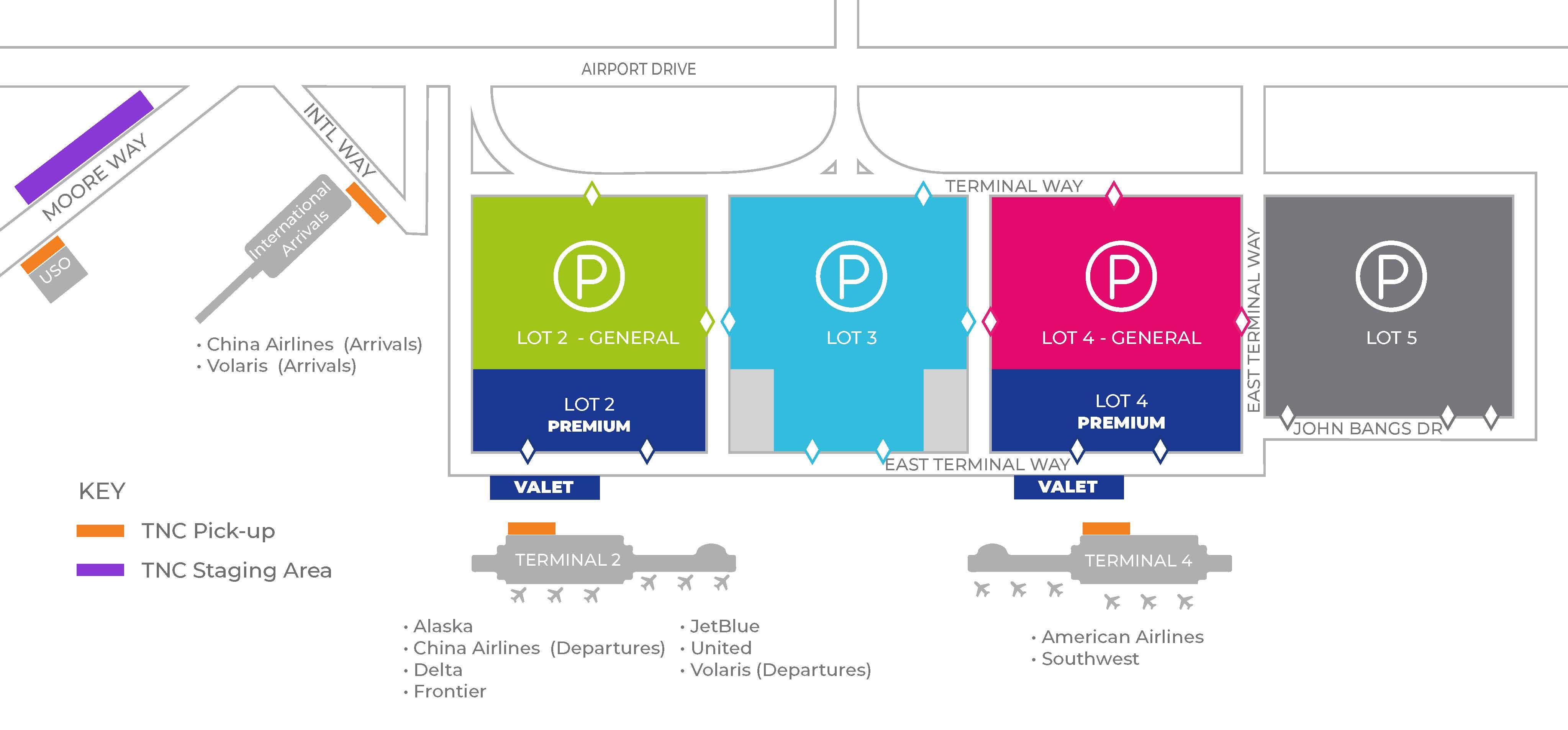 ontario airport california map Airport Maps Ontario International Airport ontario airport california map