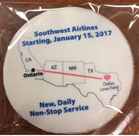 ONT to Dallas Cookie