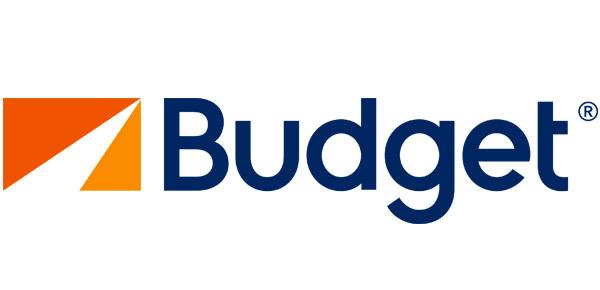 logotipo de budget rental