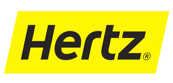 logotipo de hertz rental