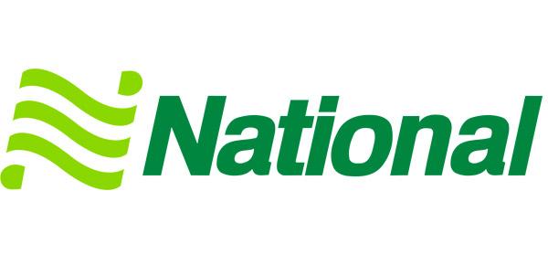 National 租车徽标