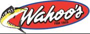 logotipo de wahoo s fish taco