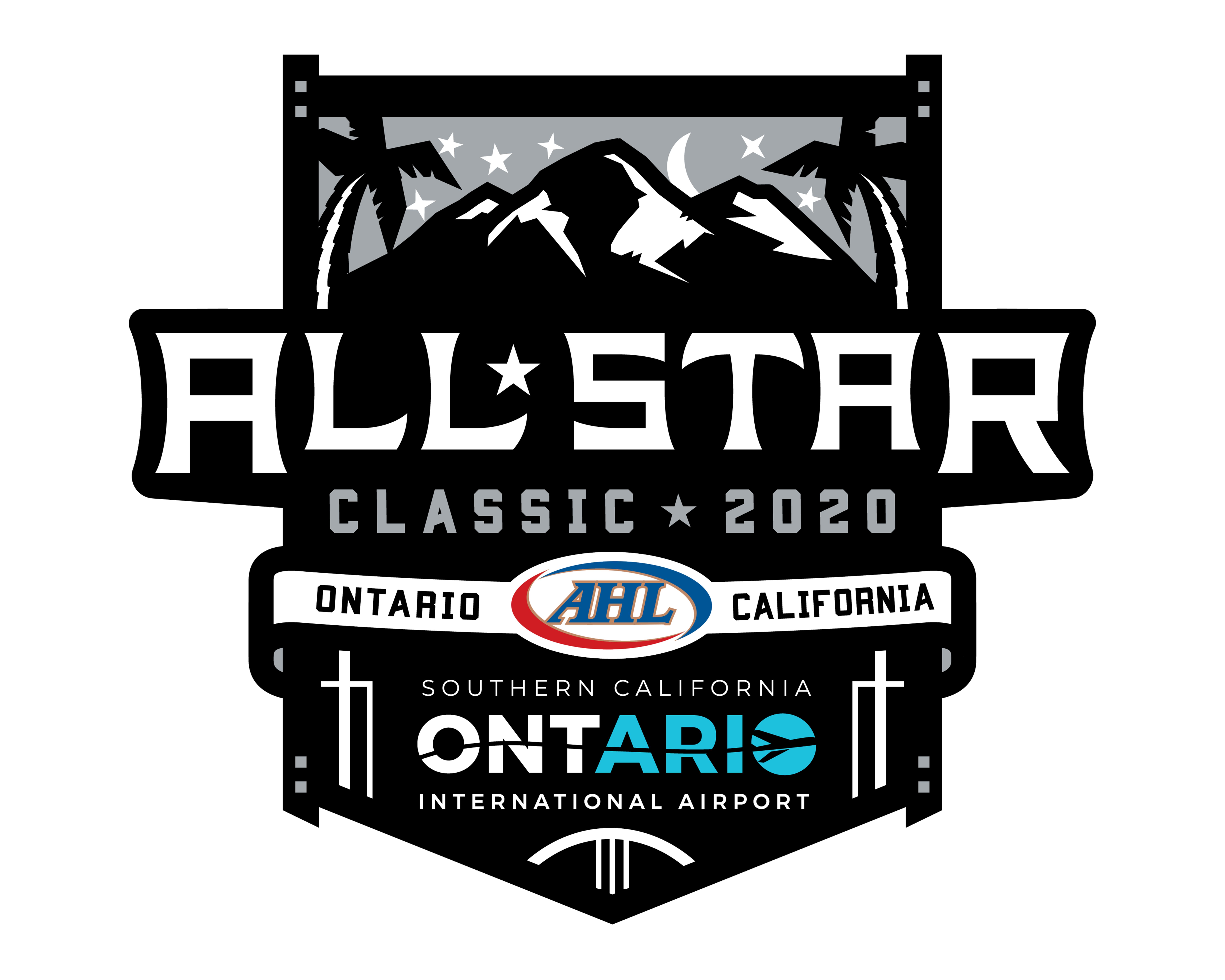 logotipo blanco de all star